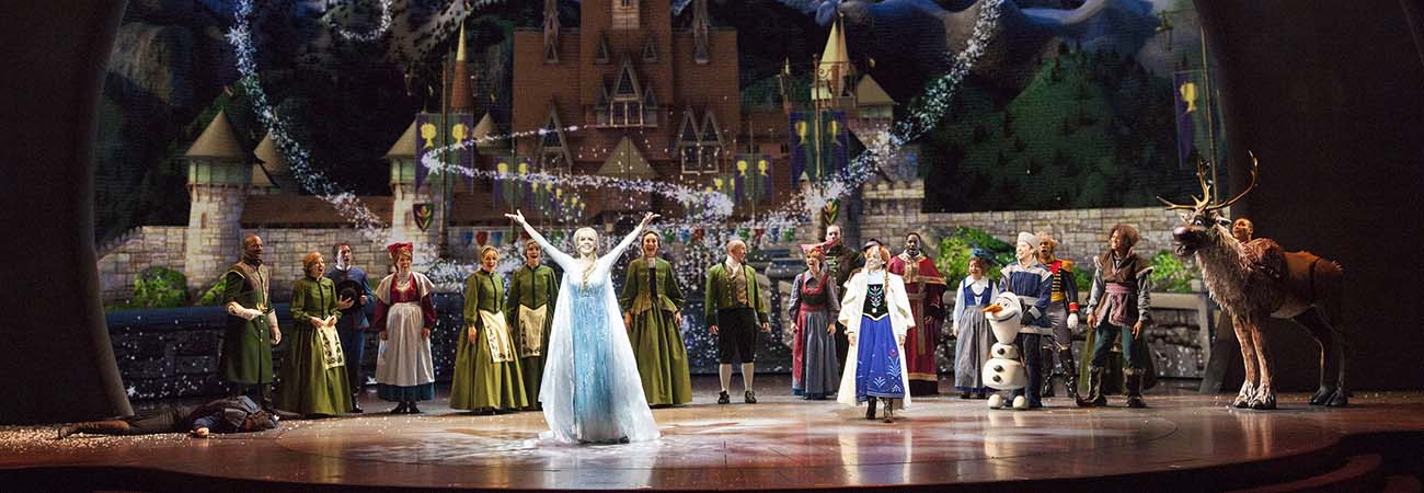 'Frozen' Takes to the Stage at California Adventure