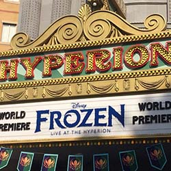 "<p>""Frozen — Live at the Hyperion"" at Disney California Adventure Park will be held in Hyperion Theater. // © 2016 Samantha..."