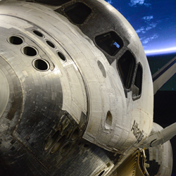 <p>Space Shuttle Atlantis is one of just three such shuttles on display for the general public in the U.S. // © 2015 Kennedy Space...
