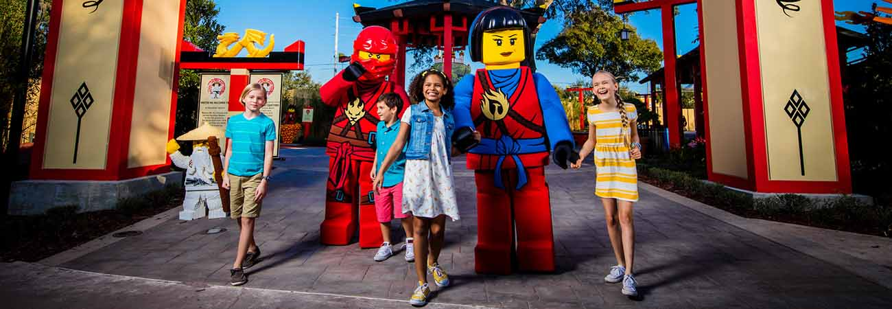 Legoland Introduces Ninjago Worlds in California and Florida