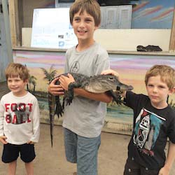 <p>At Everglades Holiday Park, airboat rides and alligator presentations impress young travelers.  // © 2014 Samantha Davis-Friedman</p><p>Feature...