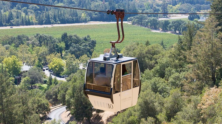 A visit to Sterling starts with a five-minute ride on the valley's only aerial tram.
