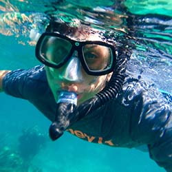 <p>Teens will love snorkeling at Lobos Natural Park. // © 2016 Samantha Davis-Friedman</p><p>Feature image (above): Lobos Natural Park is located...
