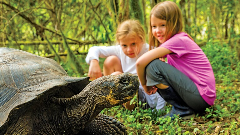 Cruise lines such as Lindblad Expeditions-National Geographic are responding to the demand for family programming in destinations such as the Galapagos.