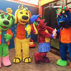 "<p>Have breakfast with characters from the television show ""Raggs"" at Grand Palladium Vallarta Resort & Spa. // © 2015 Chelsee Lowe</p><p>Feature..."