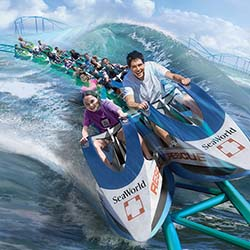 <p>The Jet Ski-style Wave Breaker: The Rescue Coaster will open at SeaWorld San Antonio in 2017. // © 2016 SeaWorld Parks</p><p>Feature image (above):...