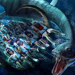 <p>The revamped Kraken roller coaster in Orlando features a new virtual reality experience. // © 2017 SeaWorld</p><p>Feature image (above): Submarine...