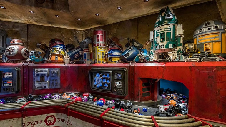 Clients can build their own personal droids in the Droid Depot.