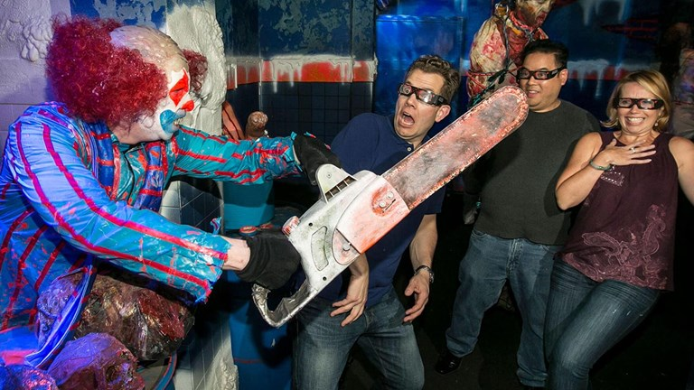 There are plenty of scares at Universal Studios Hollywood during Halloween Horror Nights.