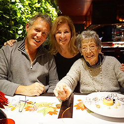 <p>The writer, her husband and her mother-in-law made time to stop at L'Atelier De Joel Robuchon in London's West End for a birthday treat. // © 2016...