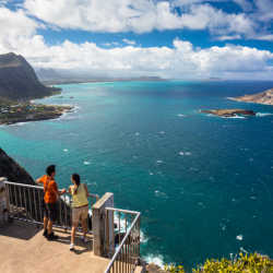 O'ahu is a premier adventure-based paradise, with a spotlight on hiking and nature strolls. // (c) 2013 O'ahu Visitors Bureau