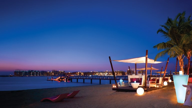The Jetty Lounge in Dubai offers an amazing setting.