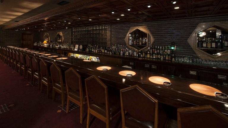 Tokyo's Old Imperial Bar has survived many historic events.