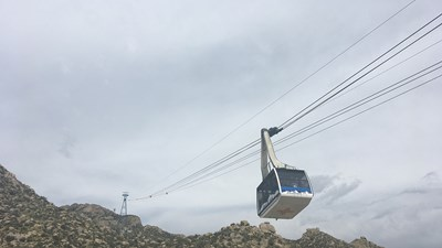 Been There, Do This: Sandia Peak Aerial Tramway in Albuquerque, New Mexico